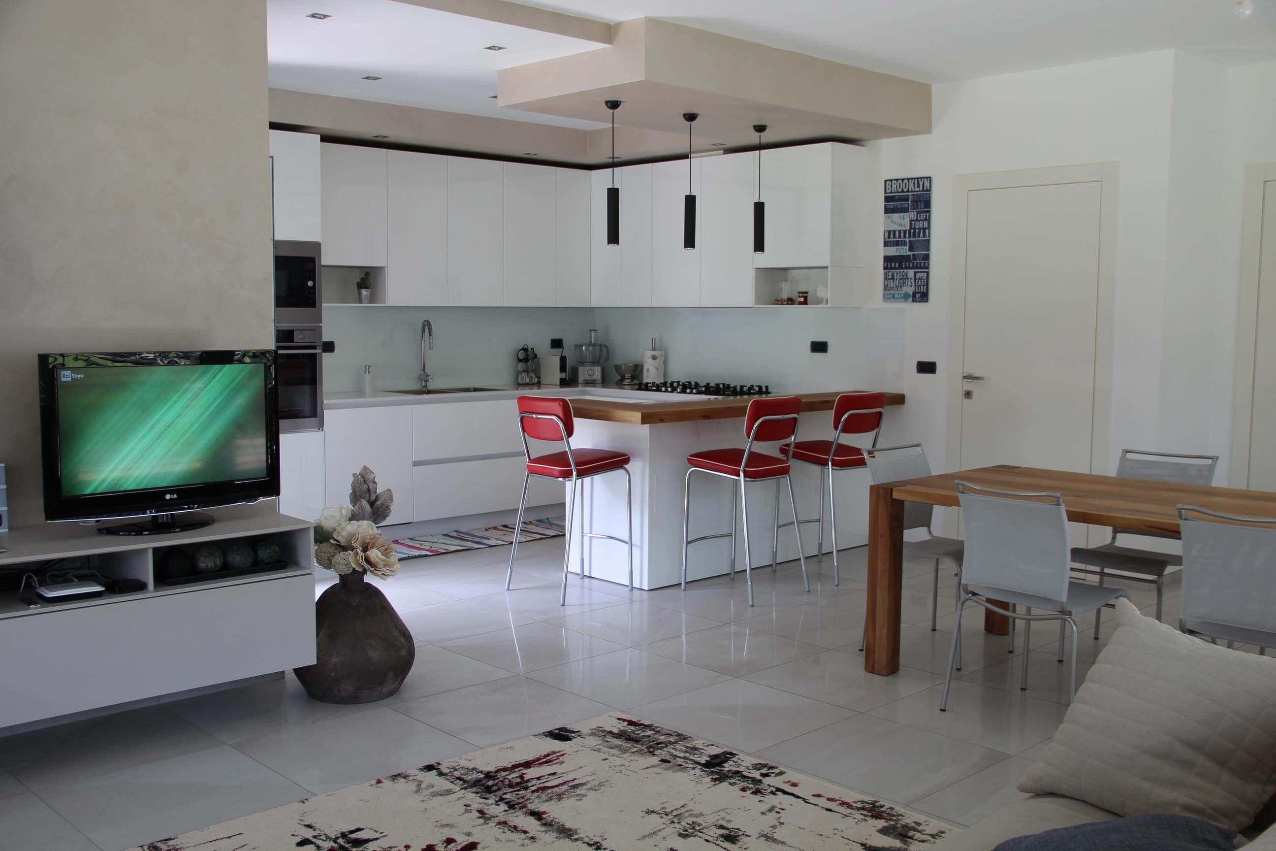 Cucina e zona living
