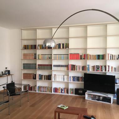Salotto di design a Milano