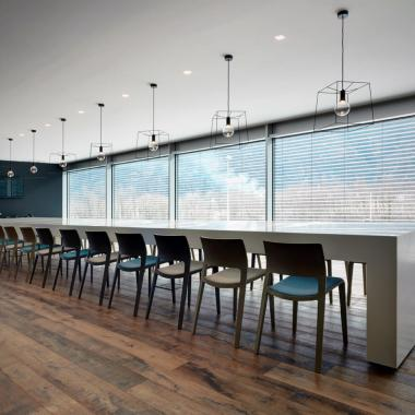 Ufficio moderno arredato da GF fioroni